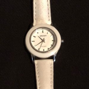 DKNY White Watch